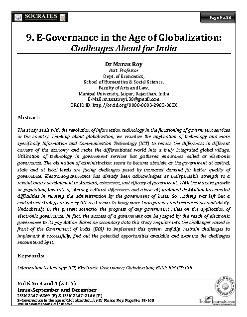 globalization article for students